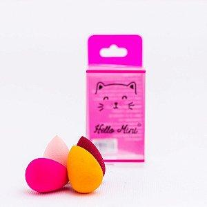 Quarteto de Esponjas Gota - Hello Mini