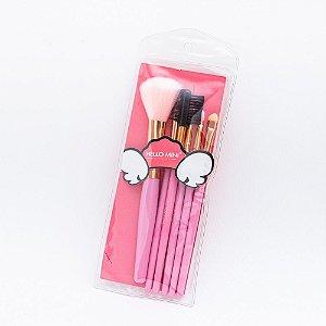 Kit com 6 Pincéis - Hello Mini