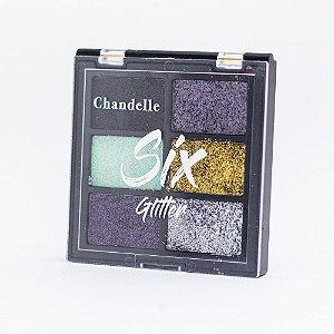 Paleta de Sombras Six Glitter Cor 6 - Chandelle