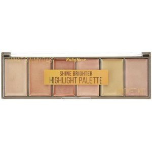 Paleta de Iluminador Pocket Shine Brighter - Ruby Rose
