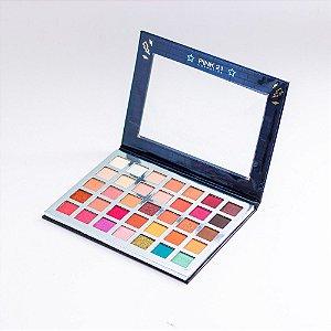 Paleta de Sombras Rock Star - Pink 21 Cosmetics