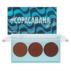 Paleta de Contornos Copacabana 2 - Boca Rosa Beauty