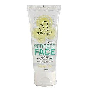 Sabonete Demaquilante Pré Maquiagem Perfect Face - Belle Angel