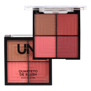 Quarteto de Blush C - Uni Makeup