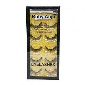 Cartela de Cílios com Cola  014 - Ruby Anjo