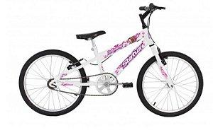 Bicicleta Status Belissima Juvenil Aro 20″ – Branca
