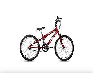 Bicicleta Status Juvenil Aro 20″ – Vermelha