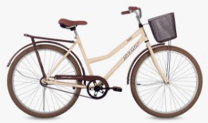 Bicicleta Status Panda Retrô – Bege-Marron