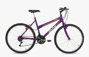 Bicicleta Status Belissima Aro 24″, 18 Marchas- Roxa