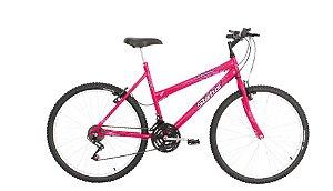 Bicicleta Status Belissima Aro 24″, 18 Marchas- Rosa Flour