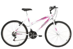 Bicicleta Status Belissima Aro 26″, 18 marchas – Branca