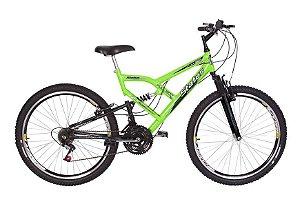Bicicleta Status Full Aro 26″, 18 Marchas-Verde