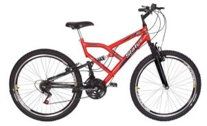Bicicleta Status Full Aro 26″, 18 Marchas - Laranja