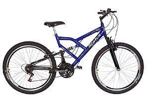 Bicicleta Status Full Aro 26″, 18 Marchas - Azul