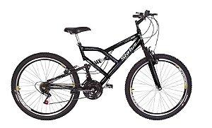 Bicicleta Status Full Aro 26″, 18 Marchas - Preta