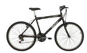 Bicicleta Status MTB Lenda Aro 26″ 18 Marchas- Preta