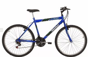 Bicicleta Status MTB Lenda Aro 26″ 18 Marchas- Azul