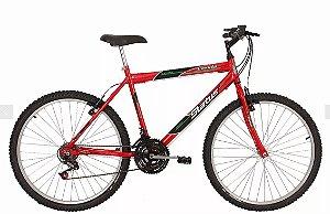 Bicicleta Status MTB Lenda Aro 26″ 18 Marchas- Vermelha