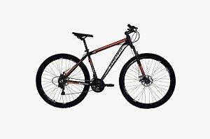 Bicicleta South MTB Aro 29″, 21 Marchas - Vermelha