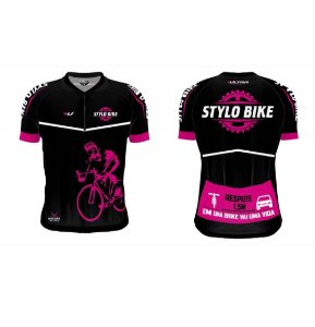 Camisa Stylo Bike - Rosa
