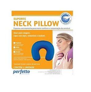 Apoio pescoço NK Pillow Preto Perfetto