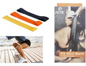 Kit Flex Band ACTE com 3 faixas