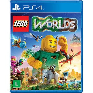 Game Lego Worlds - PS4