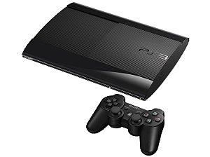 Console PS3 Super Slim 250GB +  2 Jogos e 1 controle - Seminovo