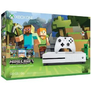 Console Xbox One S 500GB + Minecraft