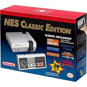 Console Nintendo Nes Classic Edition + 30 Jogos Na Memória + 1 ano de Garantia