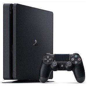 Console PS4 Slim 500GB com 2 Anos de Garantia - Sony