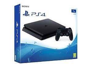 Console PS4 Slim 1TB Nacional com 2 Anos de Garantia + FIFA 18