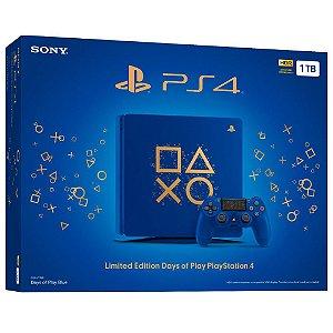 Console Playstation 4 Slim 1TB Edição Especial Days of Play