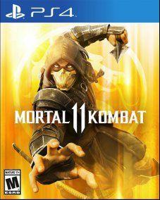 PS4 - MORTAL KOMBAT 11