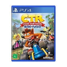 PS4 - CRASH TEAM RACING NITRO-FUELED - PRÉ-VENDA