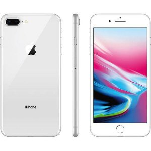 "iPhone 8 Plus 64gb Silver Tela 5.5"" iOS 12 4G Câmera 12 MP - Apple"