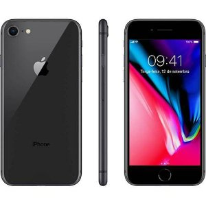 "iPhone 8 256GB Cinza Espacial Tela 4.7"" iOS 11 4G Câmera 12MP - Apple"