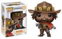 Overwatch Mc Cree Funko Pop Vinyl 182