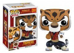 Tigress Kung Fu Panda Funko Pop 251