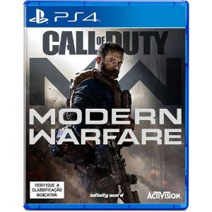 GAME CALL OF DUTY MODERN WARFARE - PS4