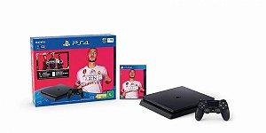 Console PS4 Slim 1TB -  2 Anos de Garantia + FIFA 20