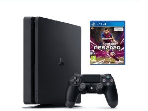 Console PS4 Slim 1TB  -  2 Anos de Garantia + PES 2020