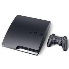Console PS3 Slim Desbloqueado - 20 Jogos e 1 controle - Seminovo