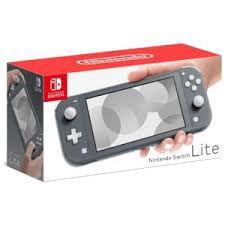 Nintendo Switch Lite - cinzento