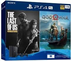 PLAYSTATION 4 PRO - 2 CONTROLES - 2 ANOS GARANTIA - GOD 4 - THE LAST OF US
