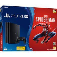 PLAYSTATION 4 PRO - SPIDER MAN - 2 ANOS DE GARANTIA