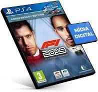 Formula 1 2019 PS4 PSN Mídia Digital