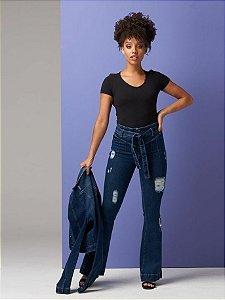 Calça Jeans ByUnna Flare