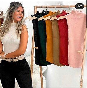 Blusa Garrafinha Tricô
