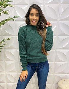 Blusa Tricô Julia Verde